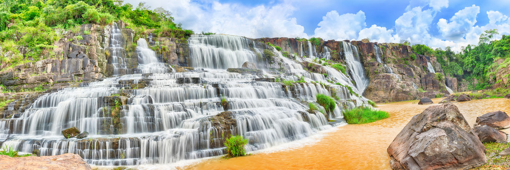 Chutes Ponga Pongour Vietnam