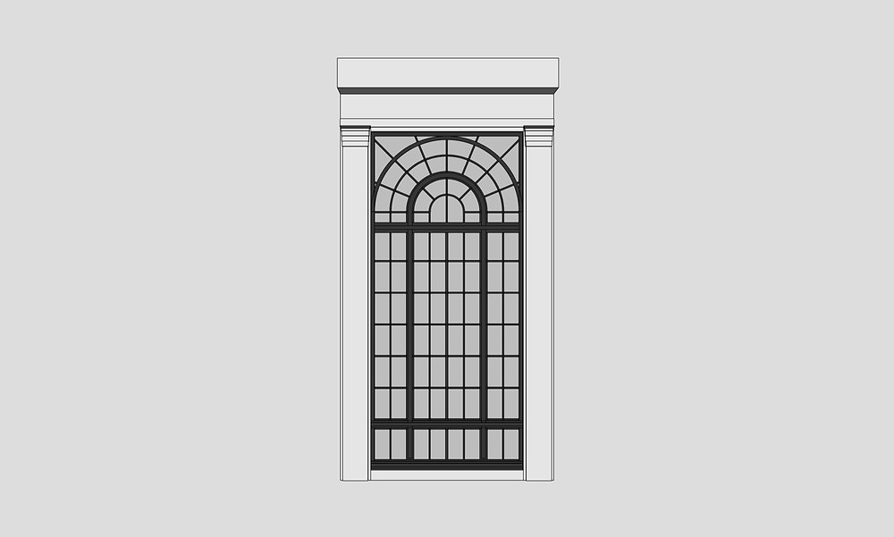 Image of Window Bay Sketchup Component used for Longwood by The Lumion Collective