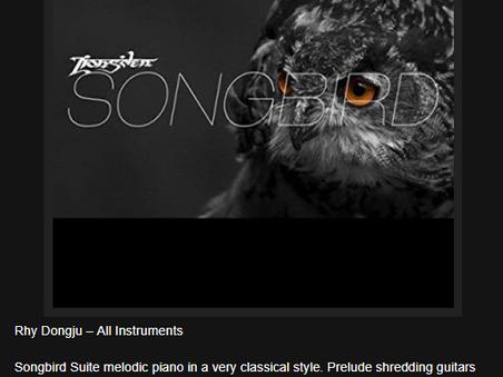 The Ripple Effect reviewed Lions'den - Songbird