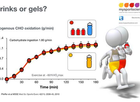 Energy bars, gels or drinks?