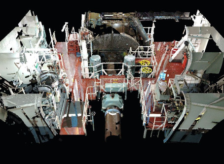 Using 3D Laser capture in shipbuilding