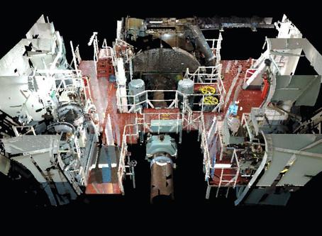 Using 3D Laser capture in shipbuilding