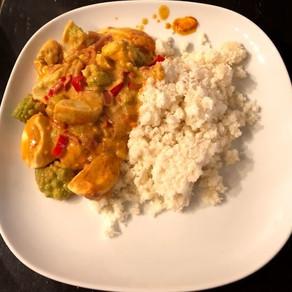 Romanov Broccoli and Egg Curry