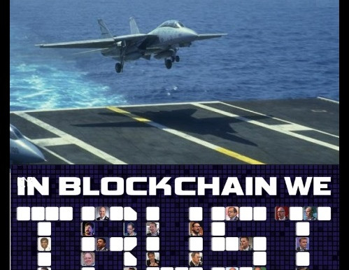 Navy Bets on Blockchain