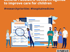 PIRN has launched the Paediatric Hospital Care Priority Setting Partnership Survey