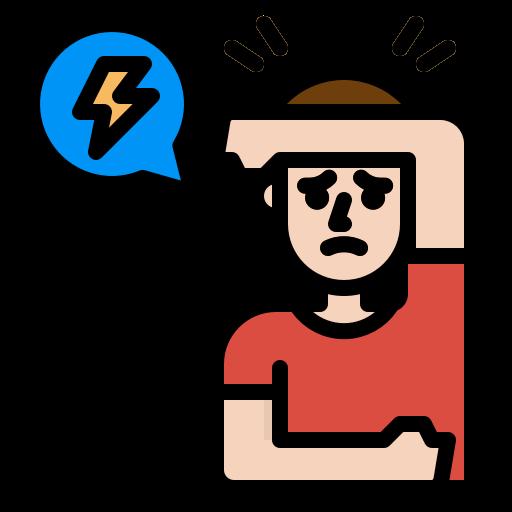 5859213 - head headache pain sick sickness