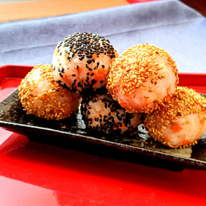 Epic salmon sesame ONIGIRI