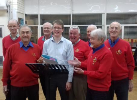 New musical director pledges  fun approach to chorus recruits