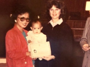 Celebrating the America-versary of my Mom, Karol, and other Americans by Choice