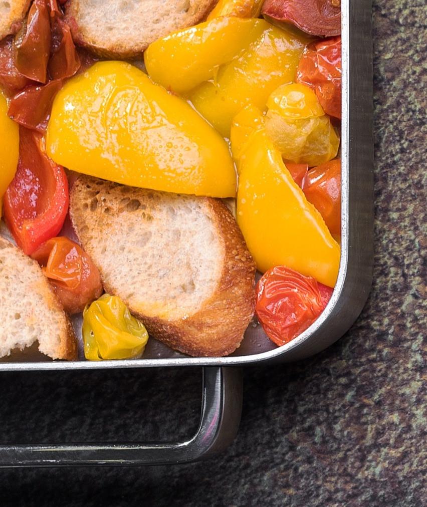 duonos ir pomidorų salotos, Alfo receptai, itališki patiekalai