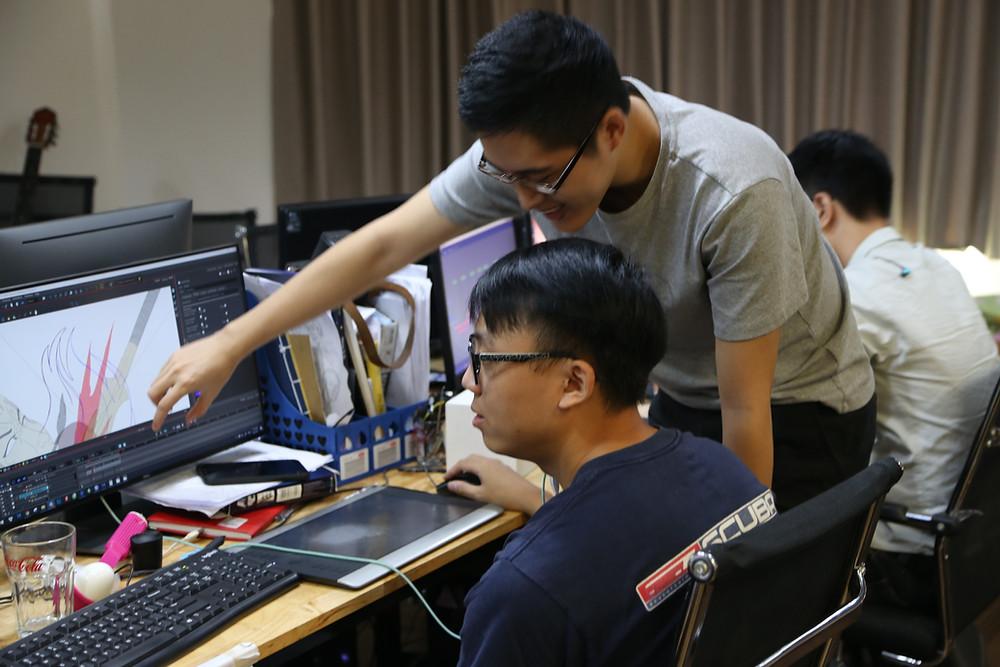 Học animation yêu cầu kỹ năng làm việc nhóm có tổ chức