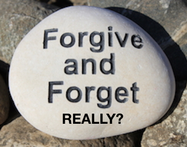 The Myth of Forgiving and Forgetting