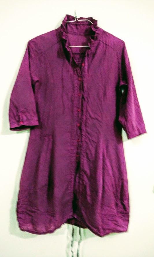 Purple Plum Cotton Tunic