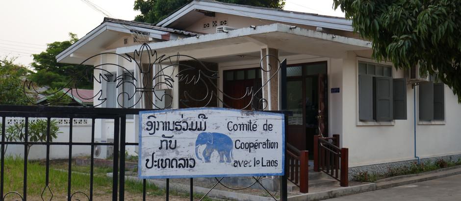 Carnet de bord 1 : Début de l'étude à Vientiane