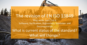 Blog series: revison of EN ISO 13849: Part 3 (Chapters 7-13)