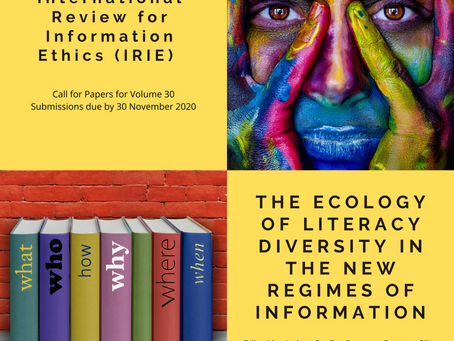 Deadline Extended! Call for Papers - IRIE Volume 30