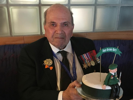 The Taxi Charity for Military Veterans - a poem by Harry Rawlins, Rifle Brigade
