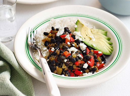 Rice and Black Bean Burrito Bowl