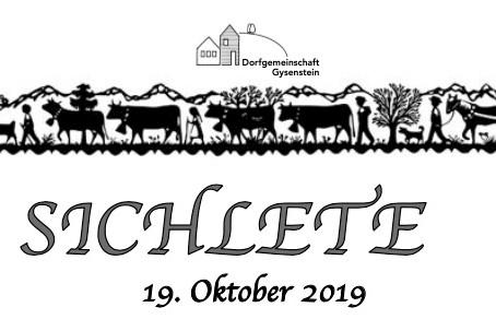 Sichlete, 19. Oktober 2019