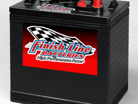 New Finish Line Batteries