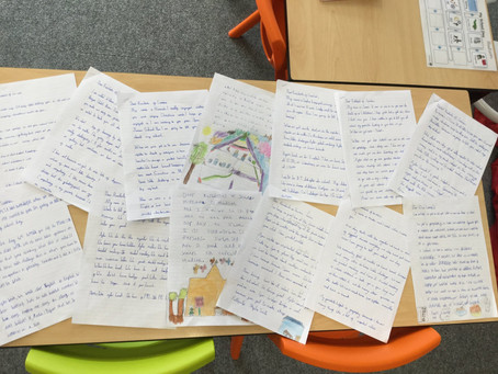 Pen Pals for Year 3