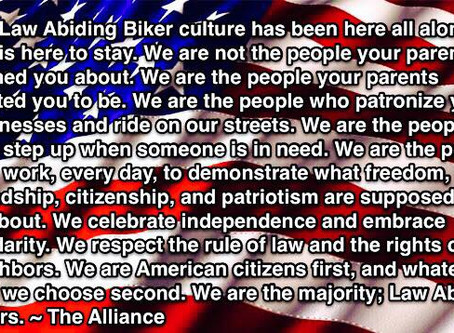 THE LAW ABIDING BIKER - KNOW YOUR RIGHTS, KNOW THE LAW BLOG #2