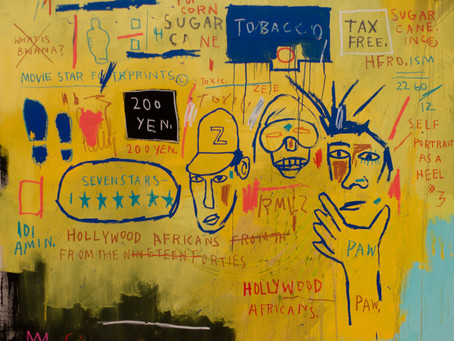 Jean-Michel Basquiat - Icon or Martyr:  The Writing's on the Wall