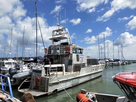 Half Moon Bay Marina is on board