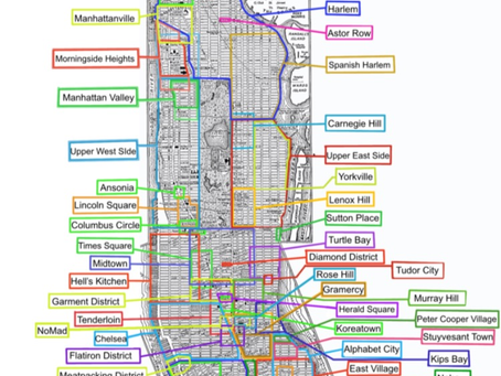 Neighborhoods of Manhattan