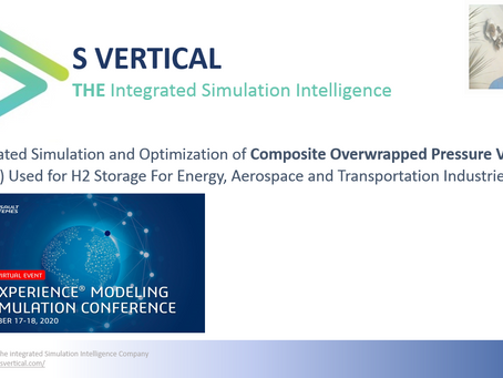 Online Conference: Design, Simulation and Optimization of Composite Overwrapped Pressure Vesse, COPV