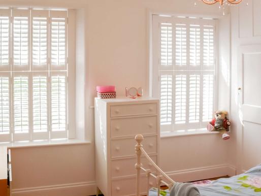 Plantation Shutters - The Best Window Treatment Idea for Kids' Rooms