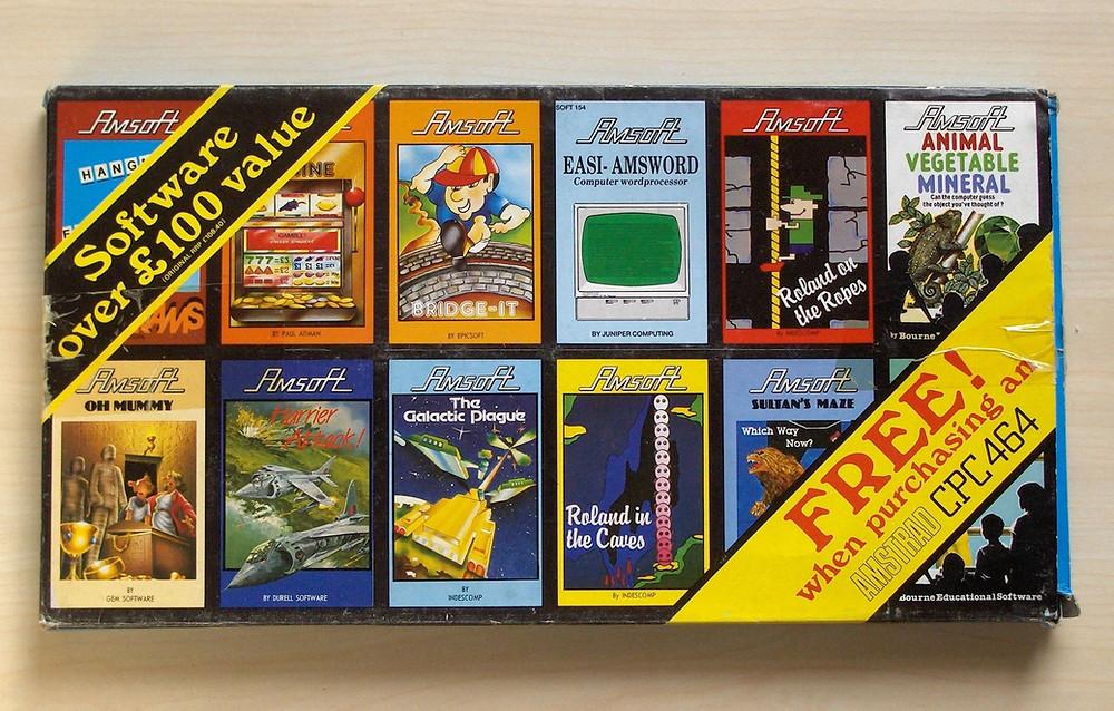 Amsoft 12 Game Promotion Pack