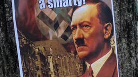 Posters with Nazi Imagery Found on Campus, Student Arrested