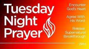 Tuesday Night Prayer (Replay)