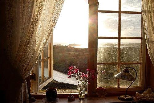 janela do quarto