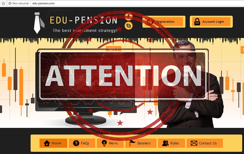 Edu-Pension AVIS - Forex Fraude