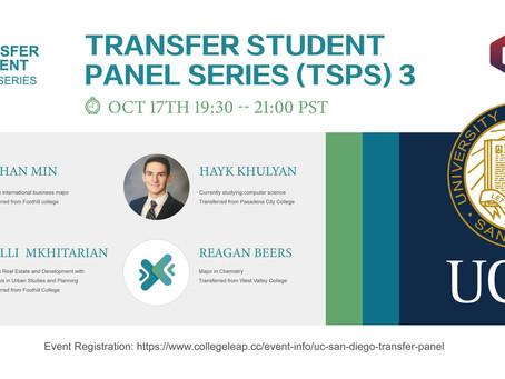 TSPS-- UCSD RECORDING