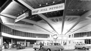 Britain's first self-service petrol station was in Plymouth!