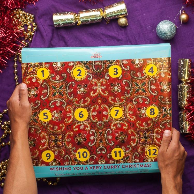 The Spicery Advent Calendar, Curry Advent Calendar, Curry lovers