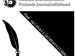 Hae Journalistiliiton opiskelijalähettilääksi!