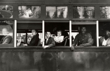 Trolly – New Orleans, 1955. From The Americans © Robert Frank.