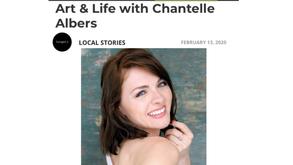 Chantelle Albers in Voyage LA Magazine