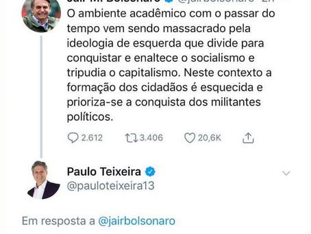 Bolsonaro sabe ou não sabe?