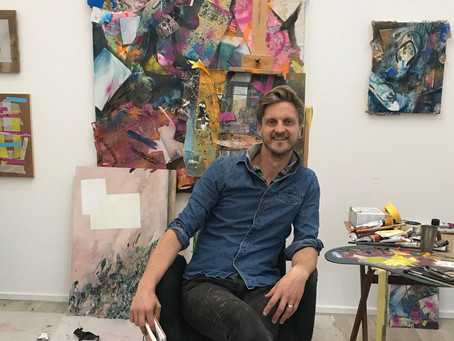 THE ART FIVE, Issue 8, with Artist, Alastair Gordon