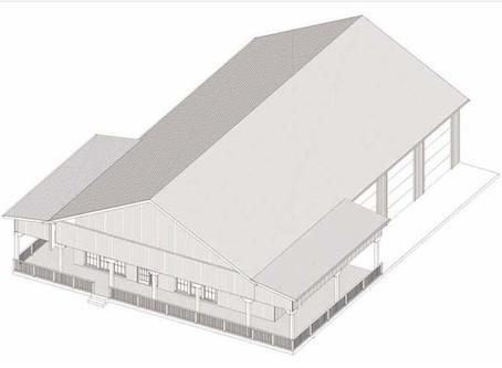 #Barndominium House Plan-BRN-04
