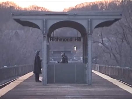 Long Island Railroad in Richmond Hill