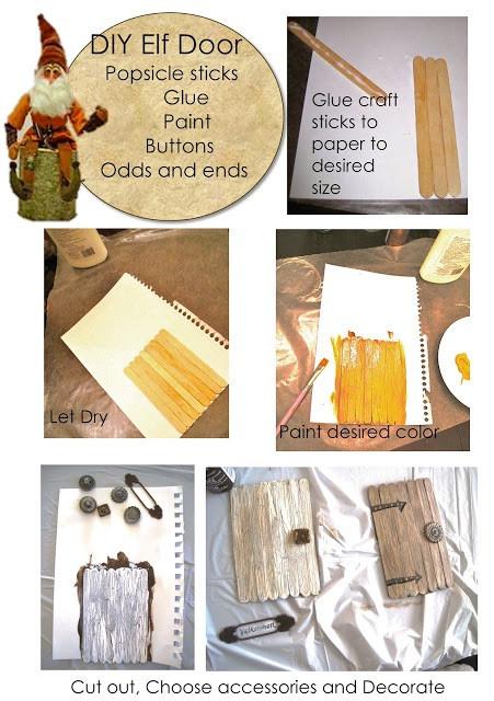 Tutorial for DIY Fairy Garden Door