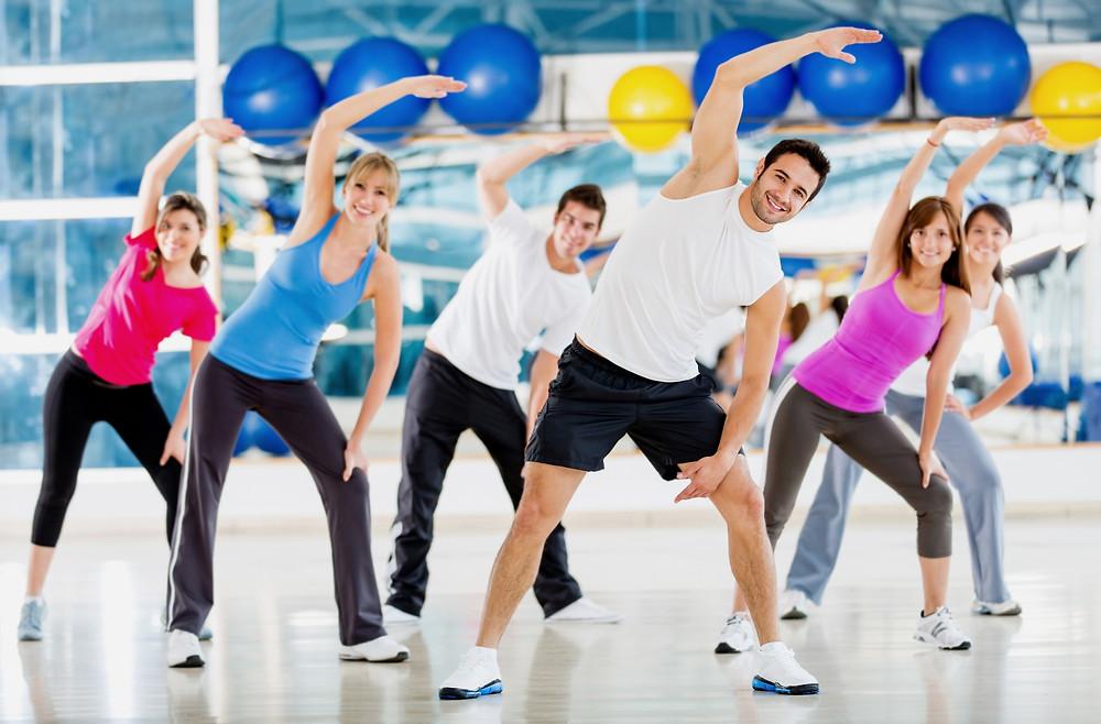 FITCITY Fitnes center Gym & Spinning Ljubljana - Vodene vadbe so odličen način rekreacije.
