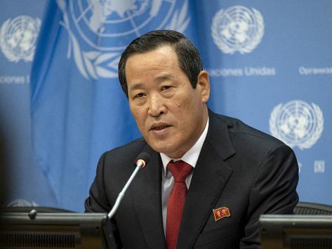 VÍDEO: Discurso de Kim Song, representante da Coreia do Norte na 74ª Assembleia Geral da ONU