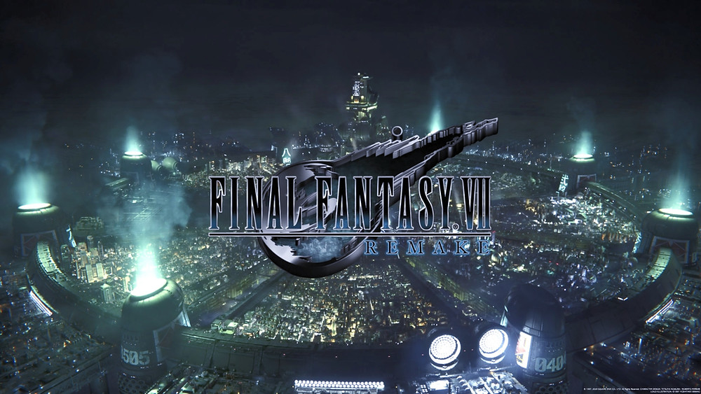 Title Screen for Final Fantasy 7